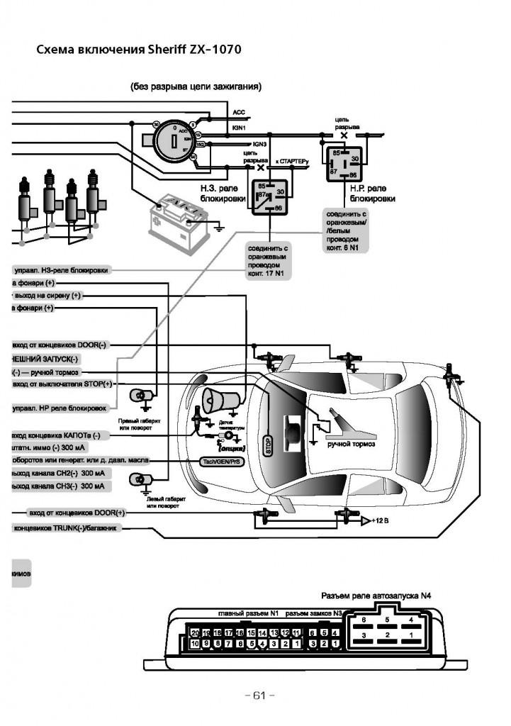 Инструкция К Охранной Сигнализацие Zx-725