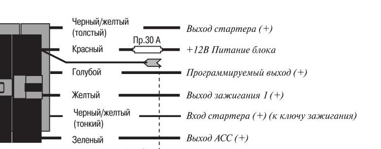 Вот из инструкции схема