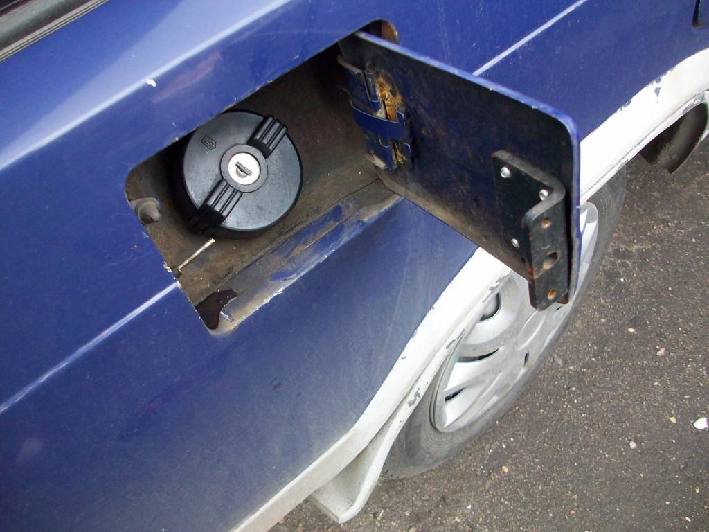Как сделать чтобы не могли слить бензин 673